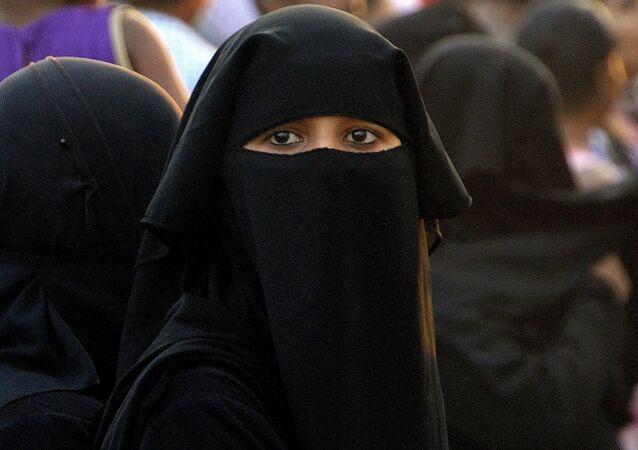 Una mujer musulmana (imagen referencial)