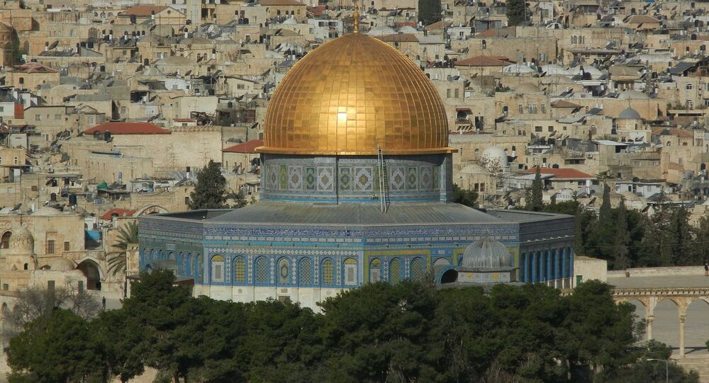 La mezquita al Aqsa