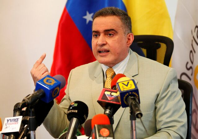 Tarek William Saab, fiscal general de Venezuela (archivo)