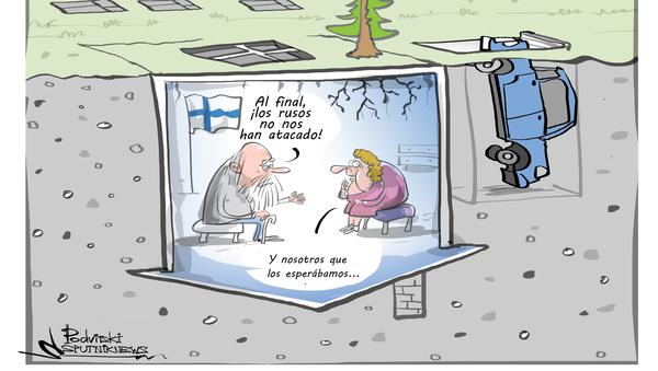 ¡Que vienen los rusos! Finlandia 'excava la tierra' para protegerse de Rusia - Sputnik Mundo