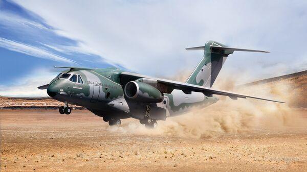 KC-390, avión militar de fabricación brasileña  - Sputnik Mundo