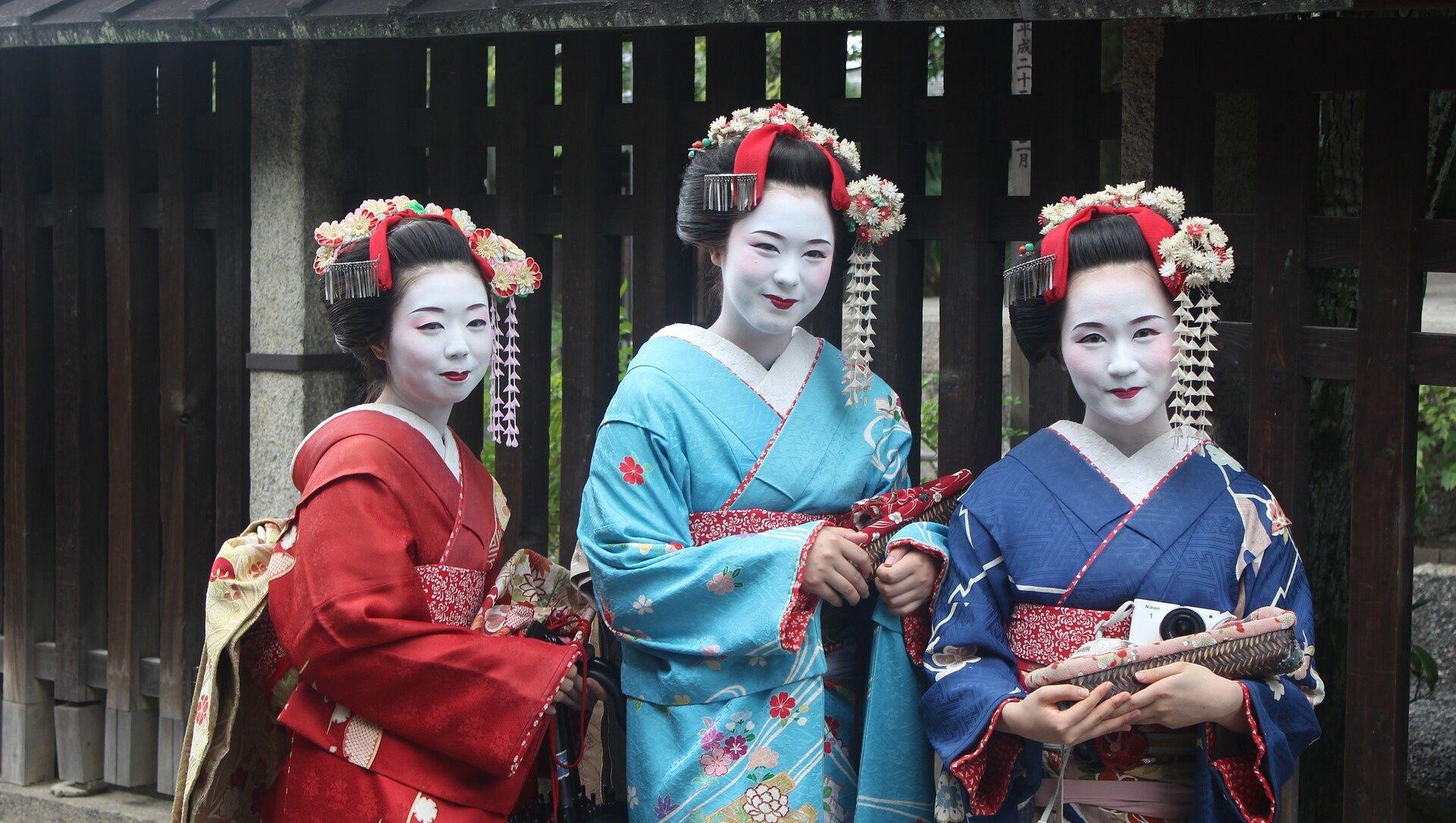 Geishas japonesas - Sputnik Mundo, 1920, 19.07.2017