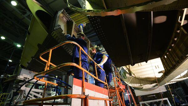 En el Instituto Central de Aerohidrodinámica N.Y. Zhukovski - Sputnik Mundo