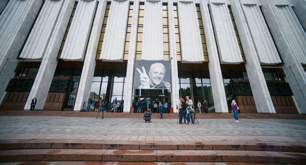 El retrato del periodista ucraniano Pável Sheremet (archivo)