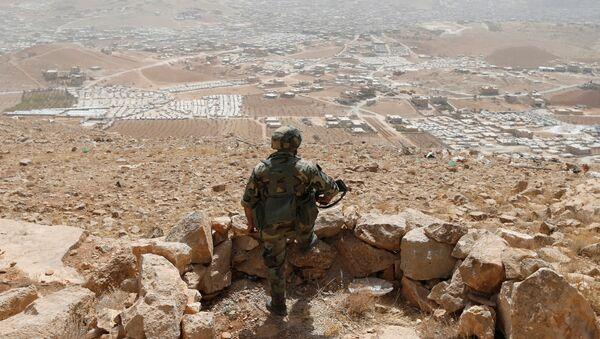Un soldado en Líbano (archivo) - Sputnik Mundo