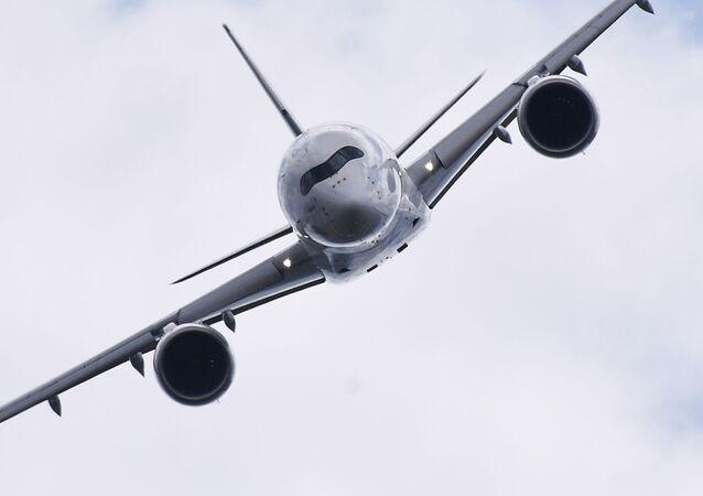 Un avión de pasajeros Airbus A350