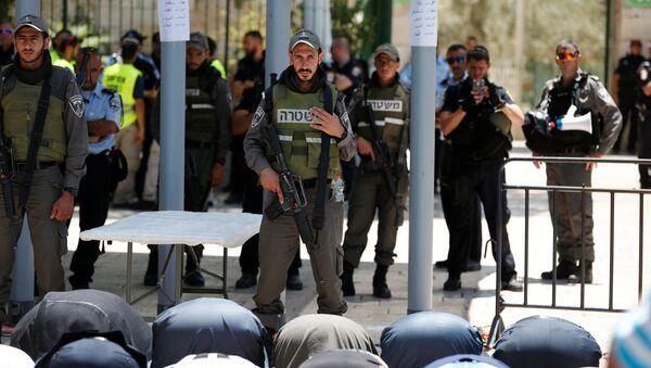 Policía de Israel (archivo) - Sputnik Mundo