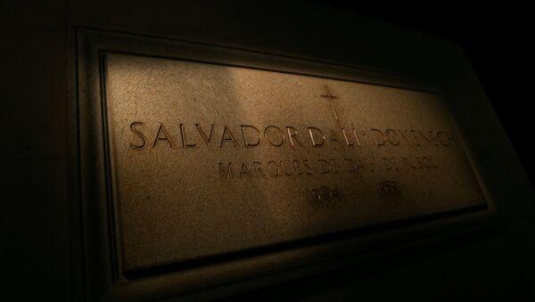 Tumba de Salvador Dalí - Sputnik Mundo