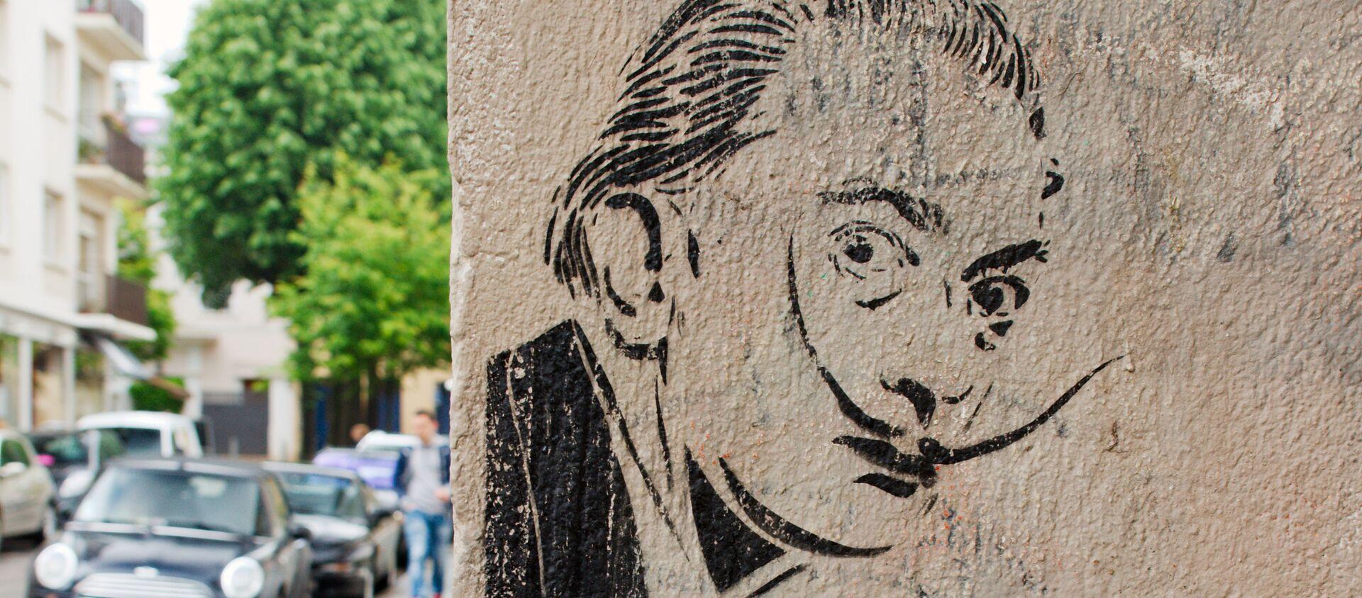 Un graffiti con el retrato de Salvador Dalí - Sputnik Mundo, 1920, 21.07.2017