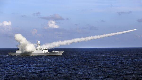El buque chino Yuncheng (archivo) - Sputnik Mundo