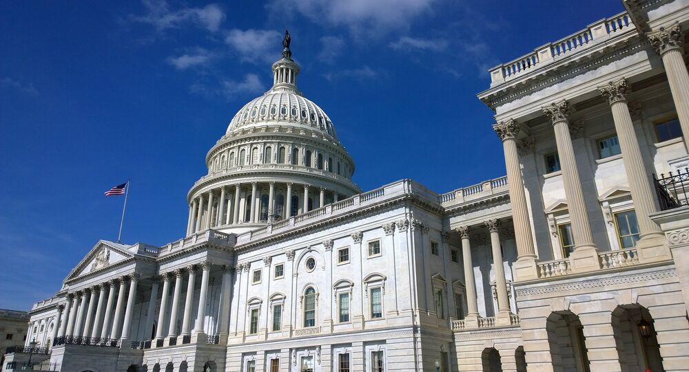 El Senado de EEUU en Washington (archivo)