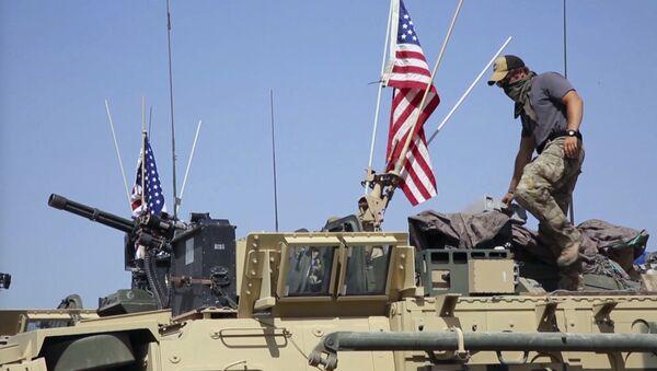 Soldado estadounidense en Siria (archivo) - Sputnik Mundo