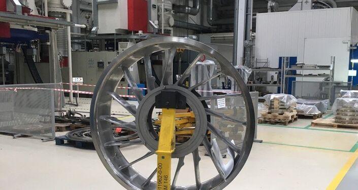 El proceso de la producción del motor SaM-146 para el avión Sukhoi Superjet 100