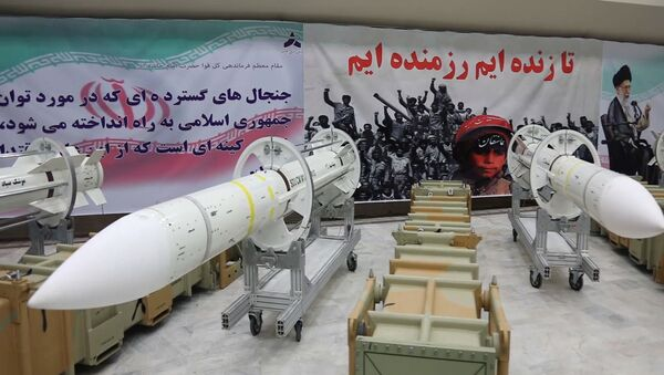 Misiles antiaéreos iraníes Sayyad-3 - Sputnik Mundo