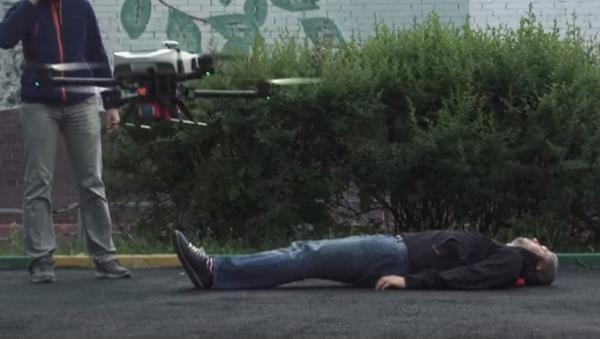 Presentación del dron desfibrilador del Instituto Tecnológico de Moscú - Sputnik Mundo