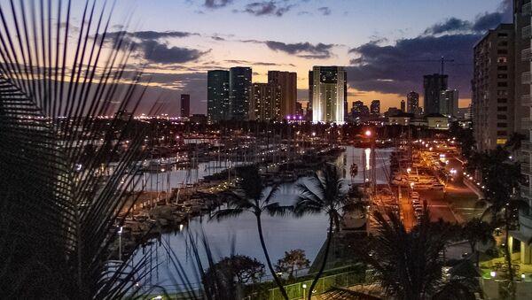 Honolulu, la capital de Hawái - Sputnik Mundo