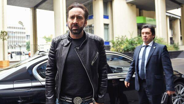 Nicolas Cage, conocido actor estadounidense - Sputnik Mundo