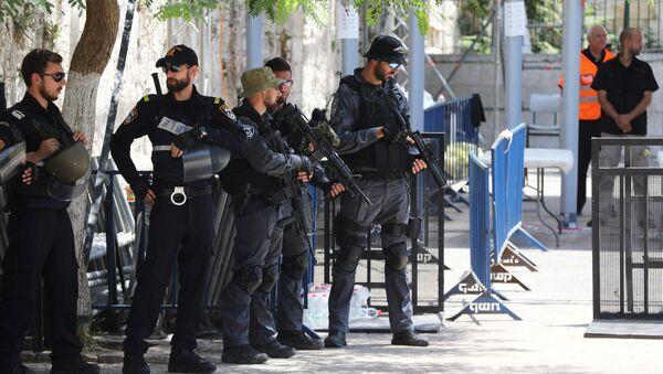 Policía de Israel - Sputnik Mundo