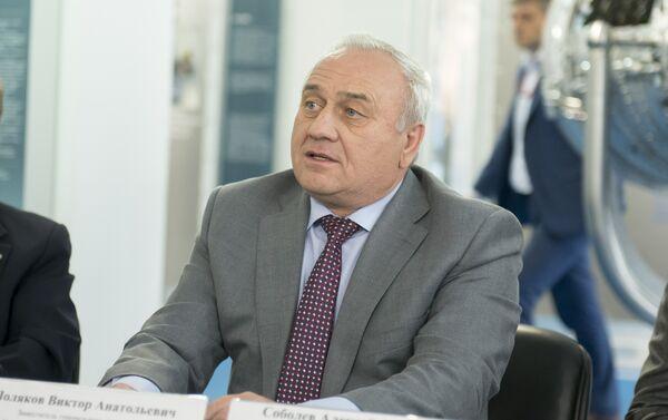 Víctor Poliakov, director gerente de la planta Saturn - Sputnik Mundo