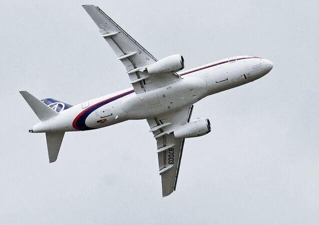 El Sukhoi Superjet 100