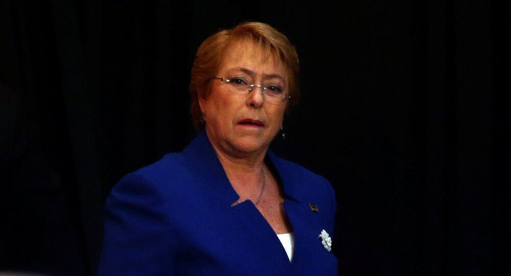Michelle Bachelet, Alta Comisionada de los Derechos Humanos de la ONU (archivo)