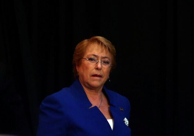 Michelle Bachelet,  comisionada de la ONU para los Derechos Humanos (archivo)