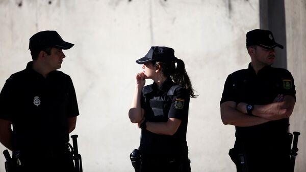 La Policía de España - Sputnik Mundo
