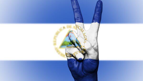 La bandera de Nicaragua (imagen referencial) - Sputnik Mundo