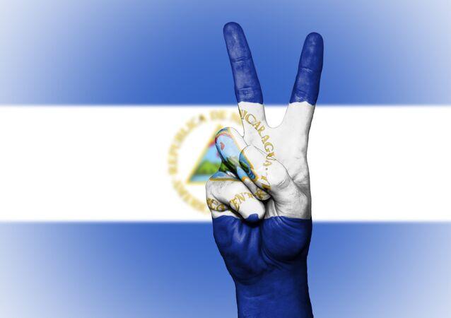 La bandera de Nicaragua (imagen referencial)