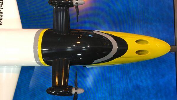 Un modelo a escala del ekranoplano ruso Chaika - Sputnik Mundo