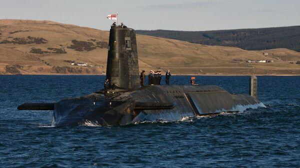 Un submarino estadounidense (archivo) - Sputnik Mundo