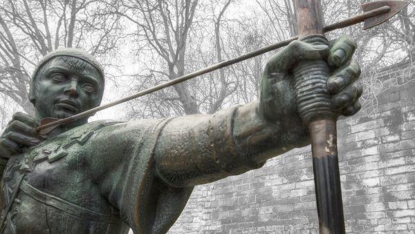 Estatua de Robin Hood - Sputnik Mundo