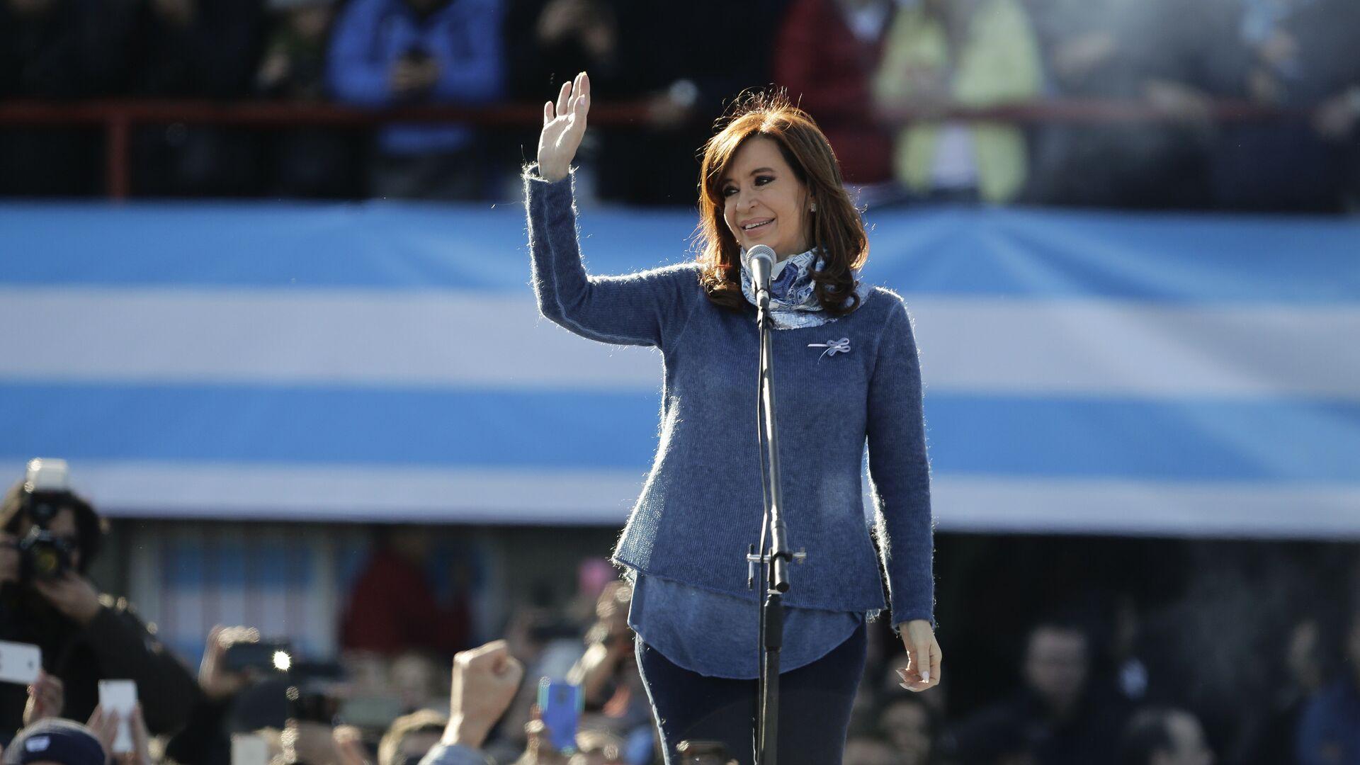 Cristina Fernández de Kirchner, expresidenta de Argentina - Sputnik Mundo, 1920, 13.04.2021