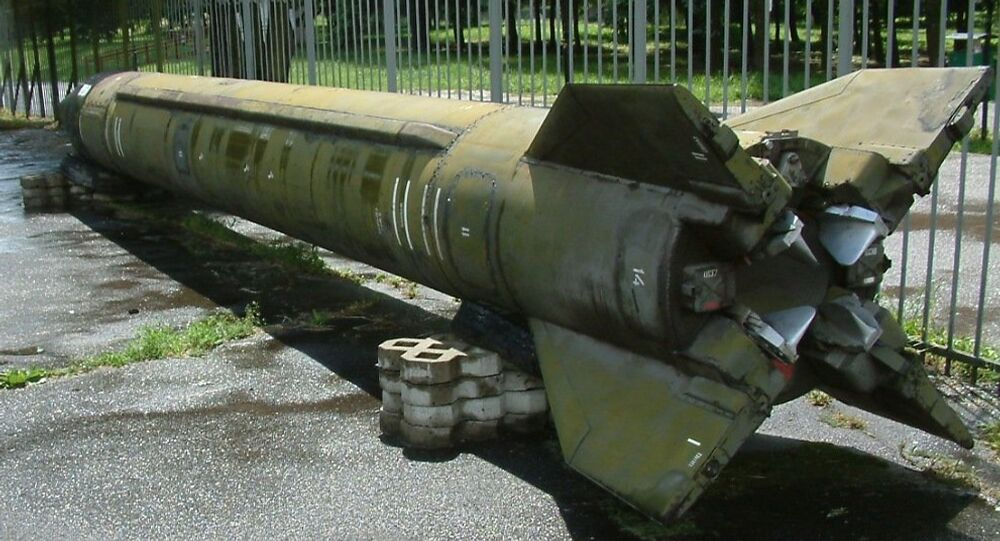 El misil balístico soviético R-17 (Scud, en la OTAN), el antecesor de los misiles contemporáneos fabricados por diferentes países (imagen refrencial)