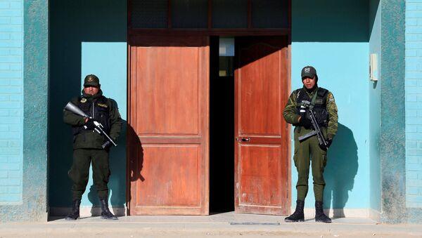 Policía boliviana (archivo) - Sputnik Mundo
