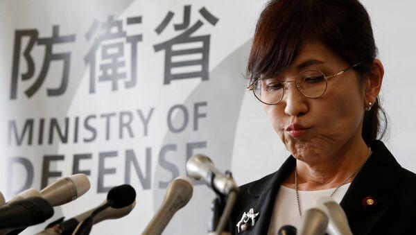 Tomomi Inada, la titular del Ministerio de Defensa de Japón - Sputnik Mundo