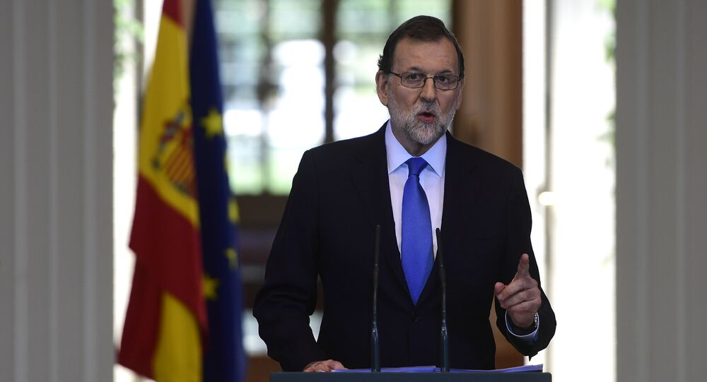 Mariano Rajoy, presidente del Gobierno español (archivo)