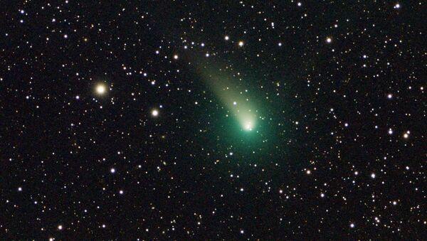 Cometa C/2015 v2 Johnson (archivo, imagen referencial) - Sputnik Mundo