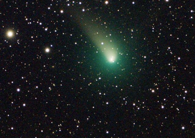 Cometa C/2015 v2 Johnson (archivo, imagen referencial)