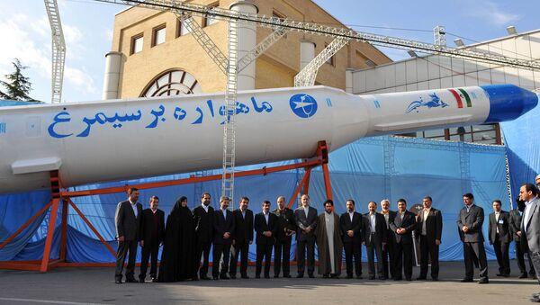 Lanzador espacial Simorgh, Irán (archivo) - Sputnik Mundo