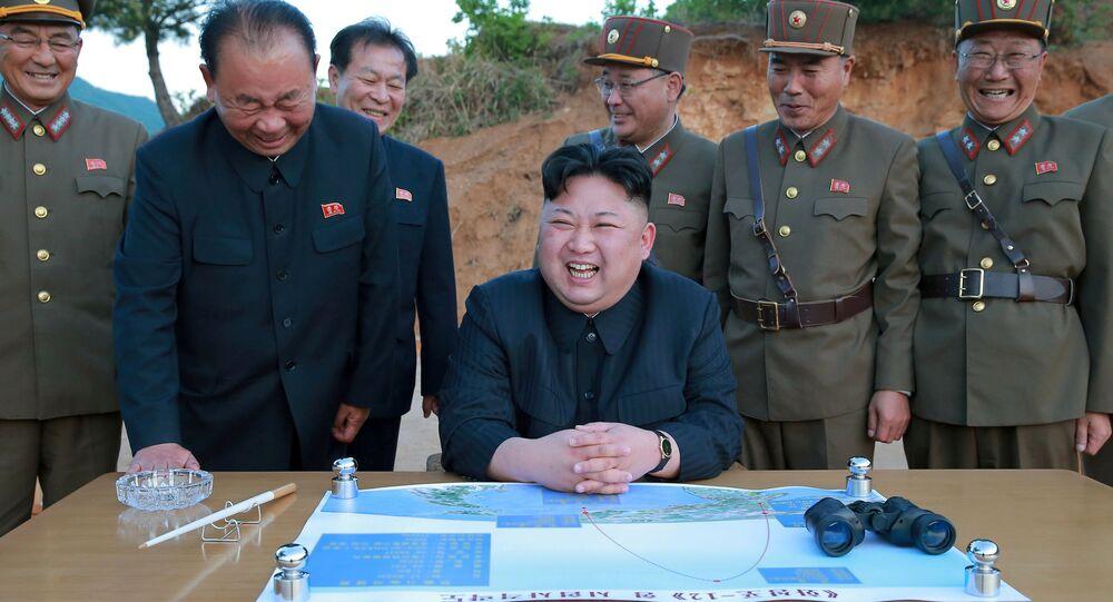 Kim Jong-un, líder de Corea del Norte
