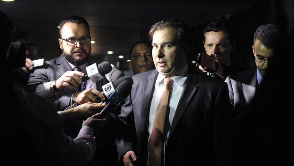 Presidente de la Cámara de Diputados de Brasil, Rodrigo Maia - Sputnik Mundo