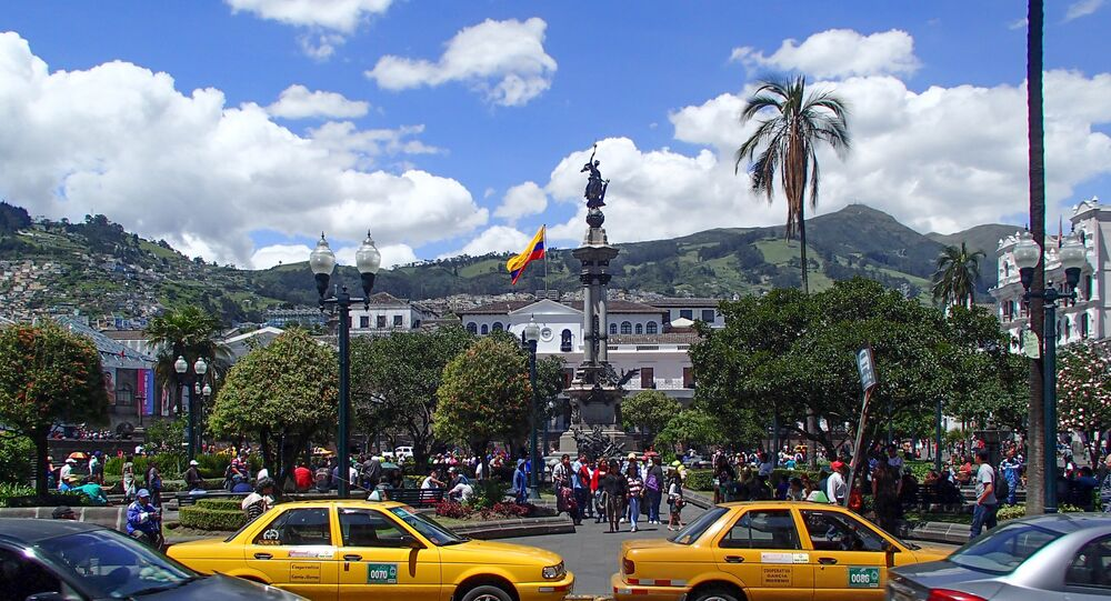Quito, la capital de Ecuador