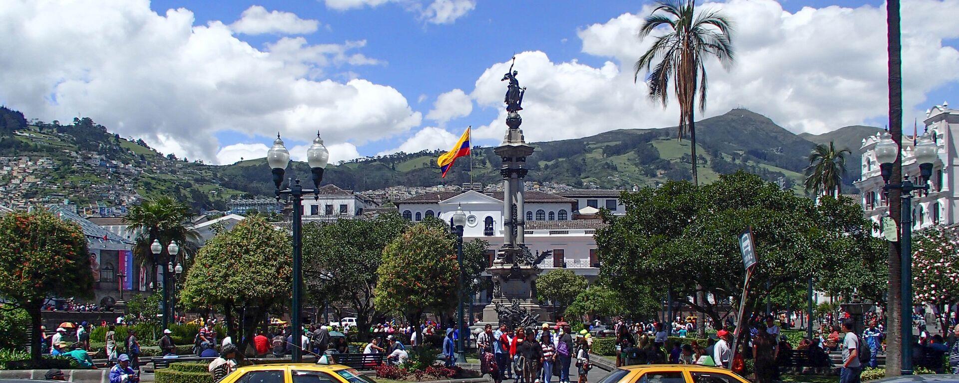 Quito, la capital de Ecuador - Sputnik Mundo, 1920, 02.08.2021