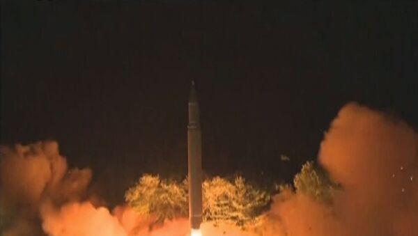 Así fue el último ensayo del misil intercontinental norcoreano - Sputnik Mundo