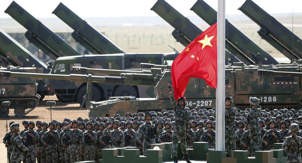 El desfile con motivo del 90 aniversario del Ejército Popular de Liberación