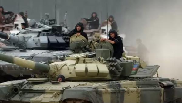 El Biatlón de Tanques de los Juegos Militares Internacionales 2017 - Sputnik Mundo