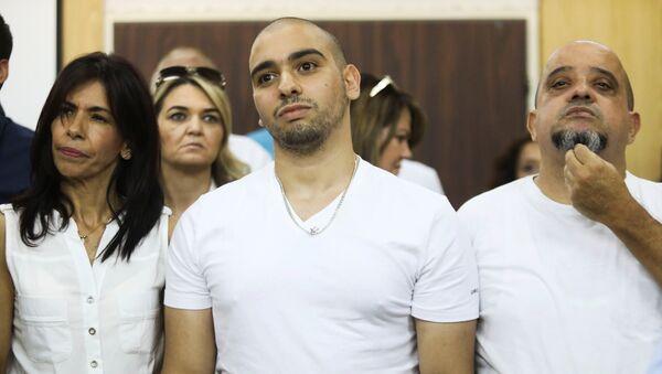 El soldado israelí Elor Azaria en el tribunal - Sputnik Mundo