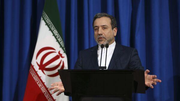 Abas Araghchi, viceministro de Exteriores de Irán - Sputnik Mundo