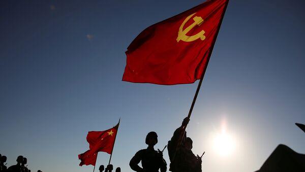Desfile con motivo del 90 aniversario de la creación del Ejército Popular de Liberación de China. Zhurihe, 30 de julio de 2017. - Sputnik Mundo